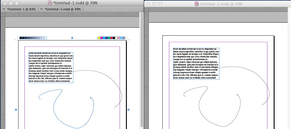 what is indesign markup document